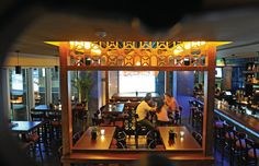 Blue Frog serves towering burgers with Australian beef
