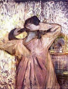 Henri de Toulouse-Lautrec Combing