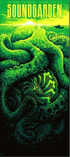 Soundgarden - Dan Mumford - 2013 ----