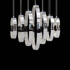 Posh Places store provides designer, high end custom decorative home furnishings shipped directly to your home. Canopy Lights, Ceiling Lights, Light Canopy, Contemporary Pendant Lights, Small Rings, Bathroom Renovations, Chandelier Lighting, Decoration, Polished Chrome