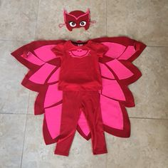 Owlette costume. made this for my daughter's 4th bday