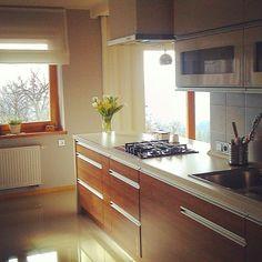 White/wooden kitchen