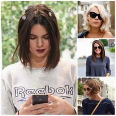 Bob Hairstyle Ideas from Street Style 2017