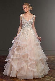 Brides: Martina Liana Wedding Dresses - Fall 2017 - Bridal Fashion Week
