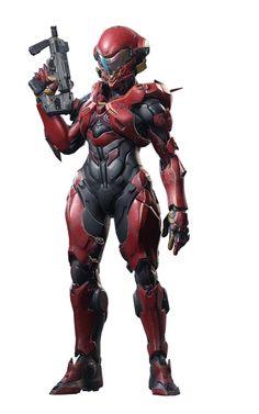 More awesome female armor design from Halo Guardians Halo 5, Halo Game, Armadura Sci Fi, Halo Armor, Arte Sci Fi, Fantasy Character, Halo Reach, Female Armor, Futuristic Armour