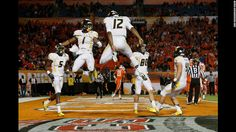 Photos: Amazing sports moments of 2012 - CNN.com   Let's Go Mountaineers!!!