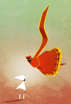 Fan Art: Monument Valley and Journey by madtenka on deviantART