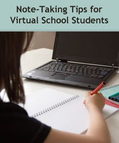 """Note-Taking Tips for Virtual School Students"" on Virtual Learning Connections http://www.connectionsacademy.com/blog/posts/2013-10-28/Note-Taking-Tips-for-Virtual-School-Students.aspx #studyskills #onlinelearning"