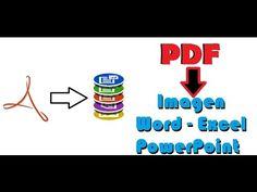 Extraer, Editar o Convertir contenido de archivos PDF | RodrIvanPacheco