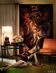 loveisspeed.......: Mario Testino Royale: A Look Inside the Photographer's L.A. Home..