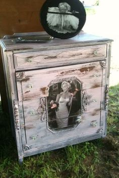 Marilyn Monroe dresser, I actually made Pinterest without pinning it myself :)  Made by TracyDenells