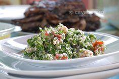 Tabouleh (tabule): cum se face. Reteta salata libaneza cu patrunjel, bulgur si rosii. Salata arabeasca cu verdeata proaspata si bulgur.