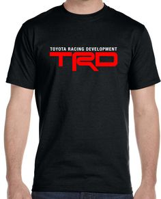 Now available on our store Toyota Racing Dev... Check it out here!http://www.tshirtmegastore.com/products/toyota-racing-development-mens-t-shirt 10% off all orders use code NEWSTUFF
