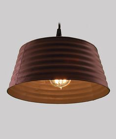 Love this Rustic Bucket Lamp by WT Collection on #zulily! #zulilyfinds