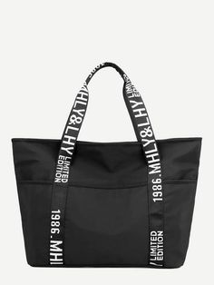 DEAN /& DELUCA Cooler Tote Bag Black Solid Polyester size S SMALL