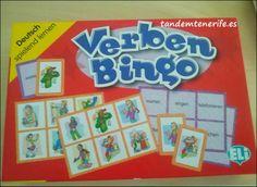 Verben Bingo Deutsch
