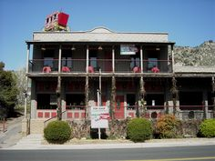 Springville Inn Hotel Tulare County Ca Constructed In 1911 Was First