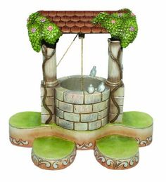 Disney Traditions designed by Jim Shore for Enesco Wishing Well Base Base 8.25 IN by Enesco,