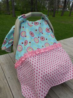 Create your own car seat tent and other kid's clothes at K.B. Creations on FB or k-b-creations.com