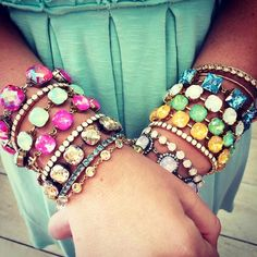 Victoria Lynn Swarovski Crystal jewelry handmade in Mississippi!