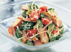 Crunchy Broccoli Salad with Cheddar and Chicken recipe | Dairy Goodness