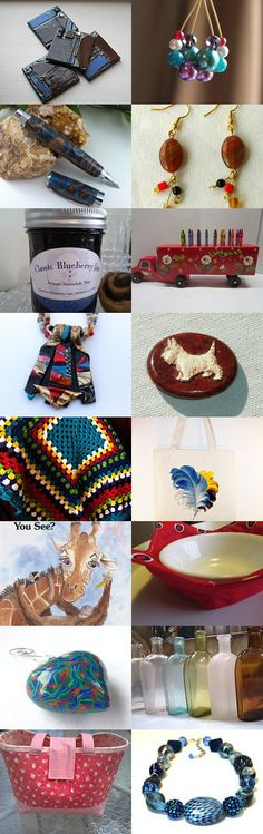 ETW December Treasury- Fabulous Gift Finds by Deb Wise on Etsy--Pinned with TreasuryPin.com