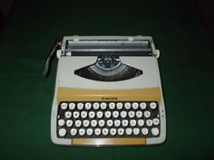 SCHOLASTIC SINGER PORTABLE TYPEWRITER,...I still have the one I bought in 1970.