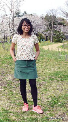 floral viscosa fácil burda style jersey 29,99 €//m loros