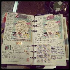 Last week. #Filofax #planner #agenda