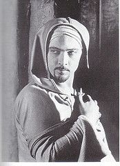 Rudolph Valentino - The Hooded Falcon Silent film star and for the times women swooned over him...hollywoods first heart throb!