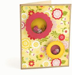 Silhouette Design Store - View Design #59918: 3d shaker card: scalloped circles