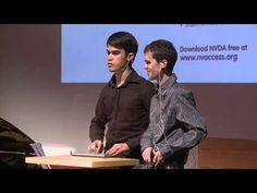 ▶ ONExSENSE: Michael Curran & James Teh at TEDxBrisbane - YouTube Visually Impaired Coders NVDA