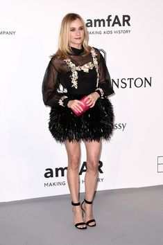 Diane Kruger at amfAR's 22nd Cinema Against AIDS Gala - All The Times…