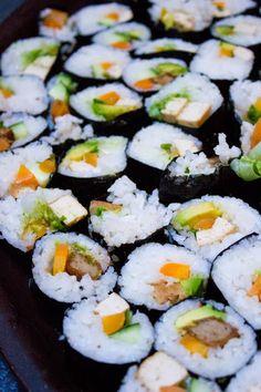 Vegetarian Sushi!
