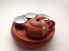 Small Yixing tea set