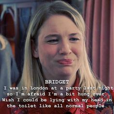 Bridget jones quote