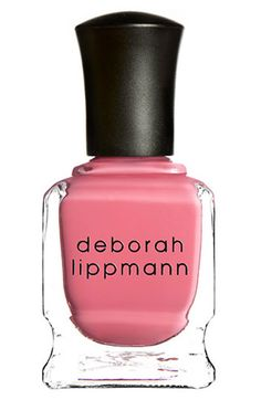 Prettiest pinky coral polish I've ever worn!! Deborah Lippmann Nail Color