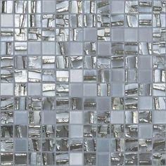 """Shooting Star Mix 658-253, 1"""" x 1"""" - Glass Tile"""