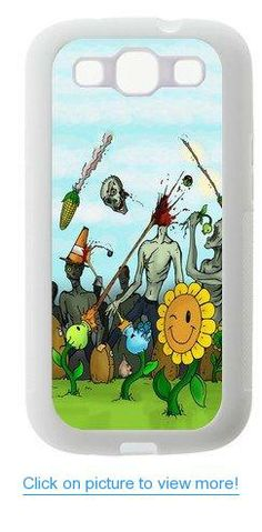 Accurate Store tower defense video game Plants vs. Zombies Samsung Galaxy S3 TPU Case Cover