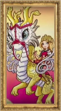 Эвер Афтер Хай Dragon Games: Портреты участниц игр с драконами