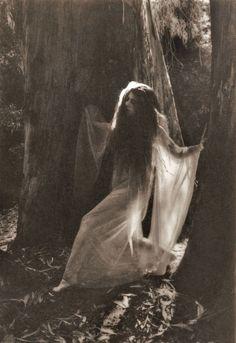 a wraith, dancing