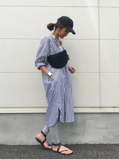 BEAUTY&YOUTH UNITED ARROWSのキャップ「BY ナイロンキャップ」を使ったkayoのコーディネートです。WEARはモデル・俳優・ショップスタッフなどの着こなしをチェックできるファッションコーディネートサイトです。 Modest Fashion, Love Fashion, Girl Fashion, Fashion Looks, Chic Outfits, Fashion Outfits, Fashion Trends, Japan Fashion, Comfortable Outfits