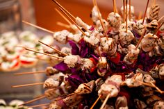 Kathy G Catering_Alabama Wedding_Grilled Chicken Skewers