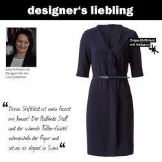 Der Januar-Liebling unserer Designchefin Jutta! #zerofashion #kleid #dress