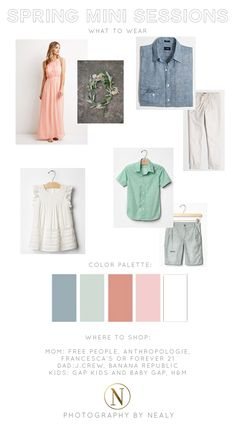 spring 2015 mini sessions what to wear