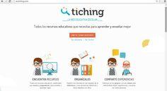 Profesores en la nube: TICHING, una red educativa para aprender y enseñar...