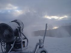 Treetops Resort is preparing for ski season!  Snowmaking has begun for the 2013-14 winter season!
