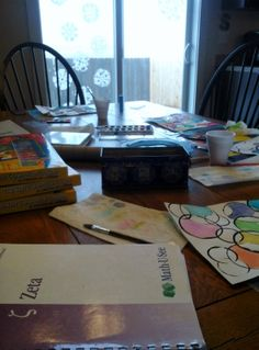 The Potter's Hand: Homeschool days - what do they look like?