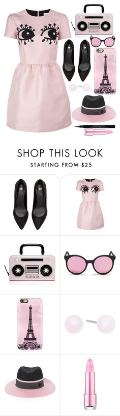 """""""Pinkie"""" by makeup-queen-anna ❤ liked on Polyvore featuring RED Valentino, Kate Spade, Spektre, Casetify, Michael Kors, Maison Michel and Givenchy"""