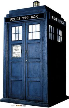 Advanced Graphics Dr. Who The Tardis Cardboard Stand Up